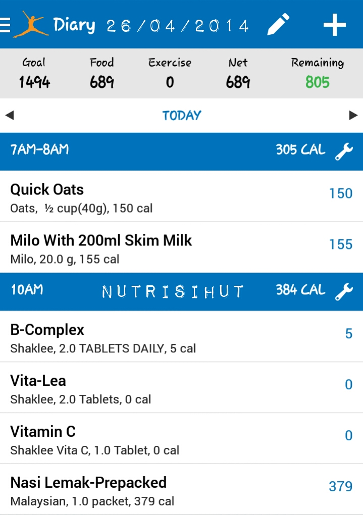 Tips - Cara Mudah Mengira Kalori